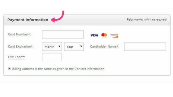 start a blog siteground payment