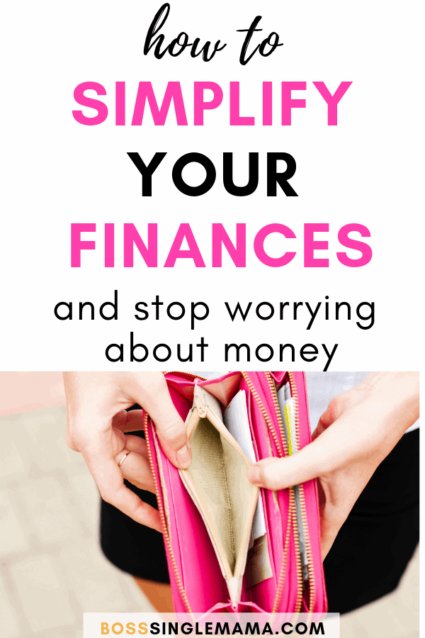 simplify your finances