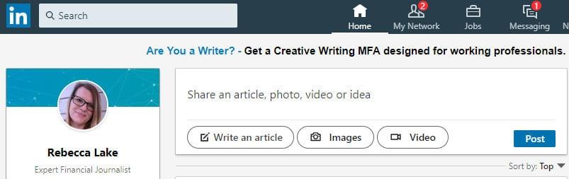 Build a Freelance Portfolio With LinkedIn