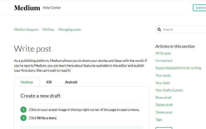 Build a Freelance Portfolio With Medium