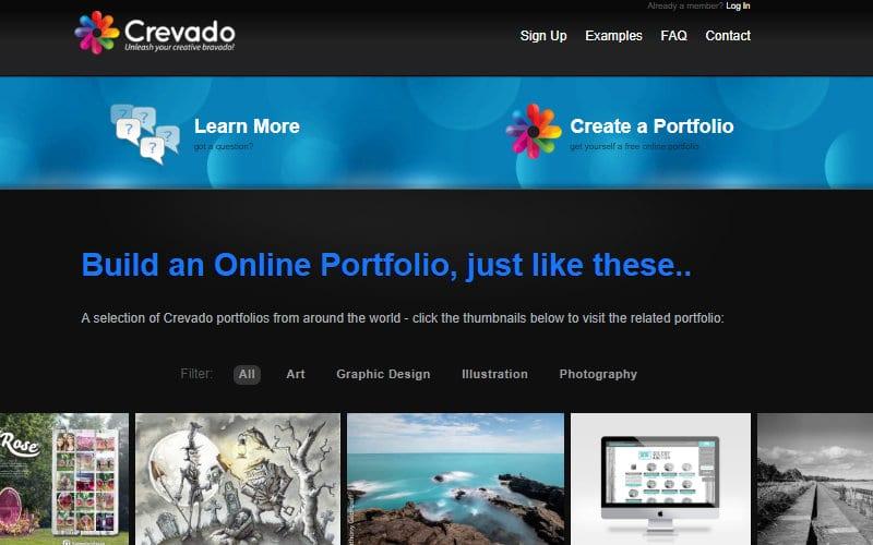 Build a Freelance Portfolio with Crevado