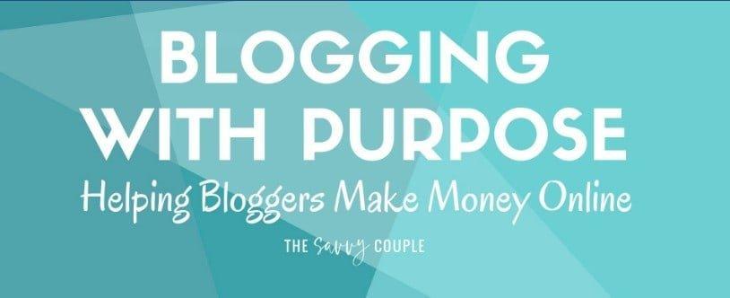 blogging with purpose