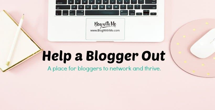 help a blogger out