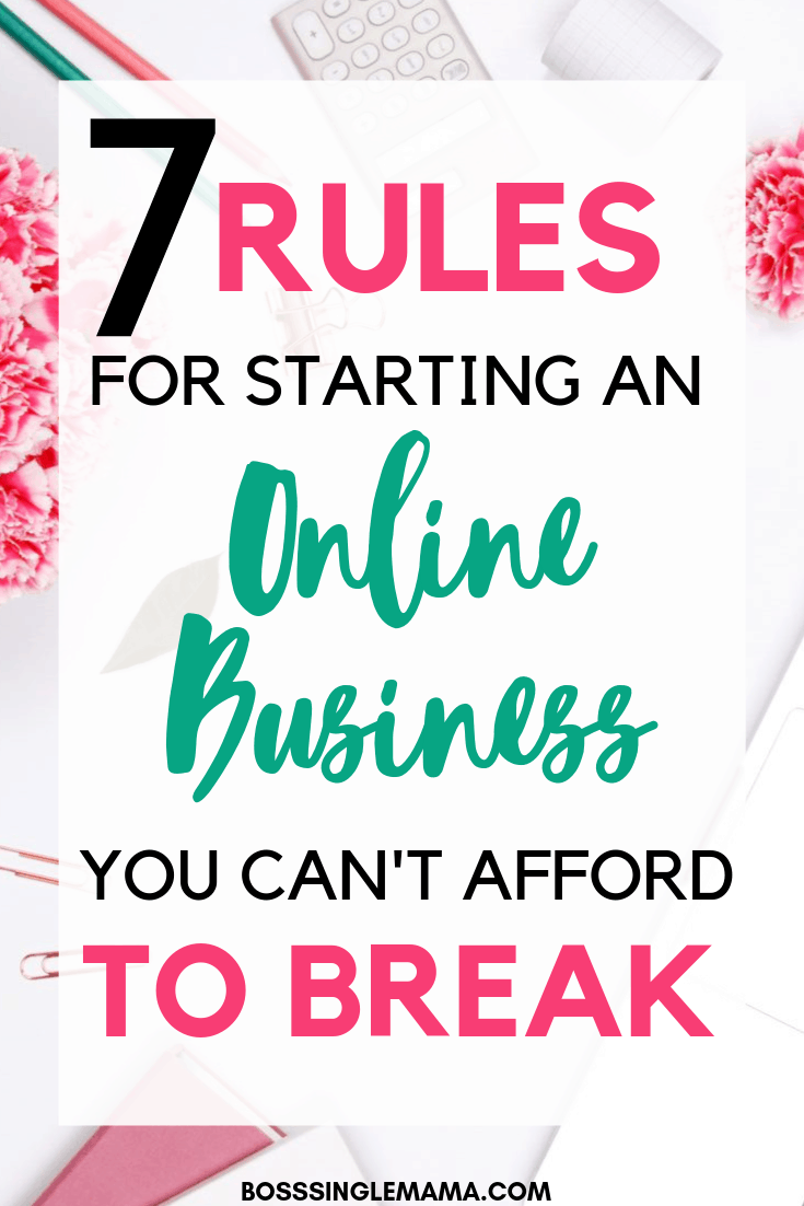 starting an online business