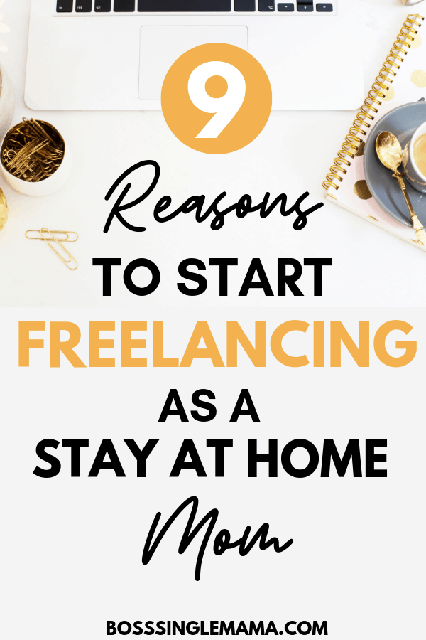 freelancing for stay at home moms