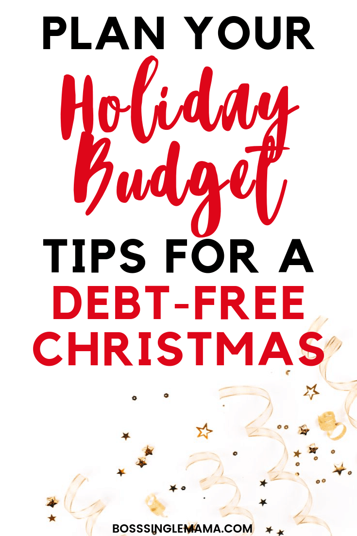 holiday budget tips
