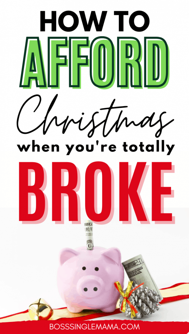 how to afford christmas when you're broke