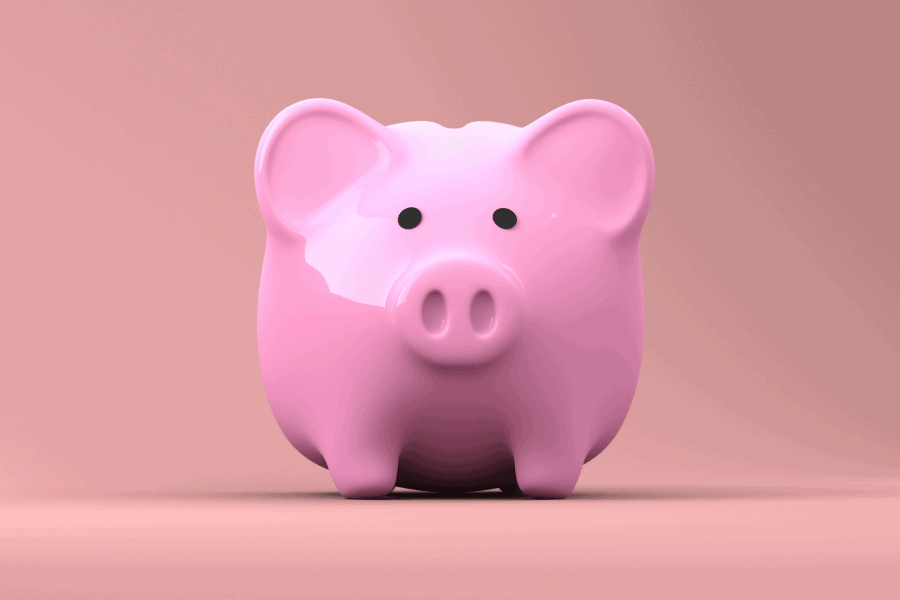 save more money piggy bank
