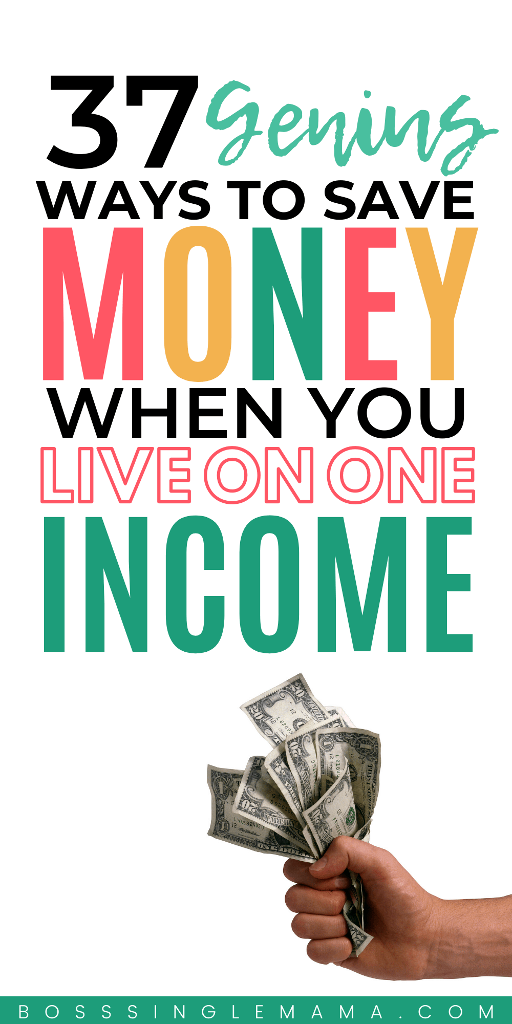 living on one income