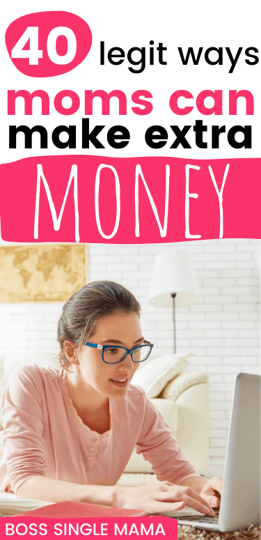 mom making money online