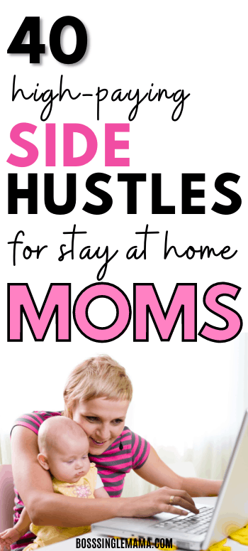 best side hustles for moms