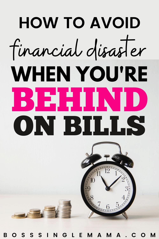 behind on bills