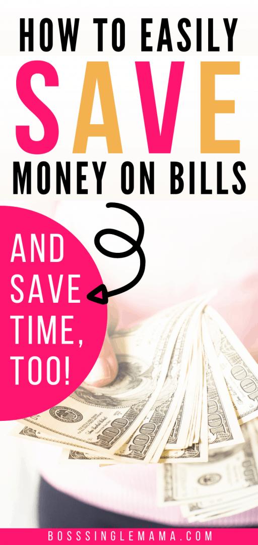 save money with Billshark
