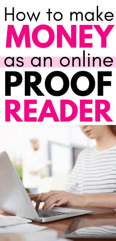 how to make money as an online proofreader