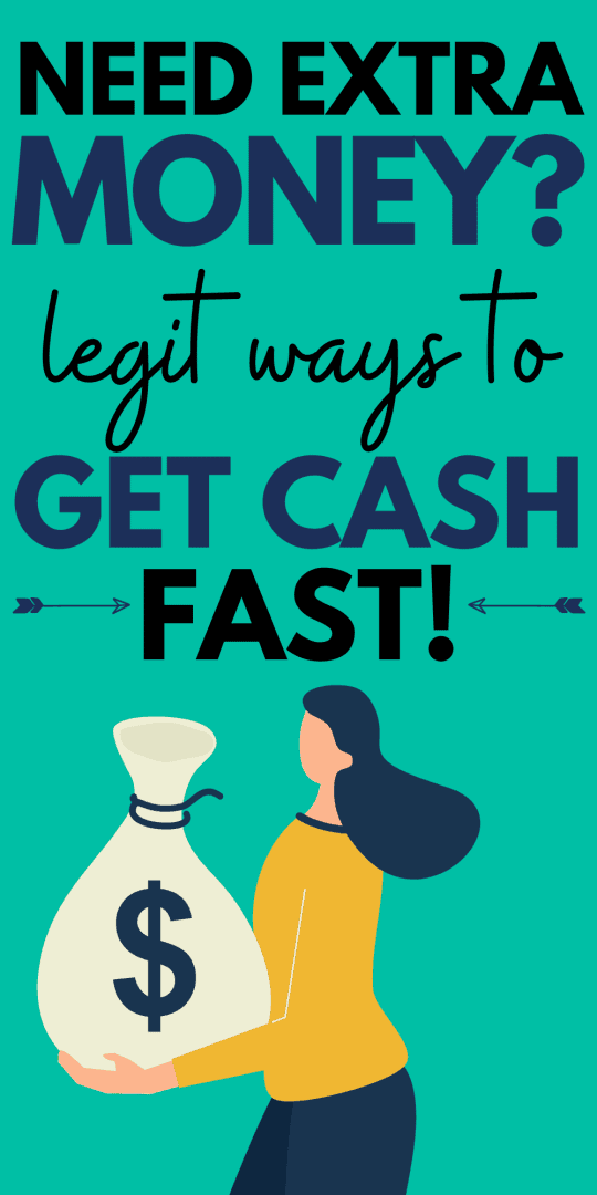 how to get cash when you need money now
