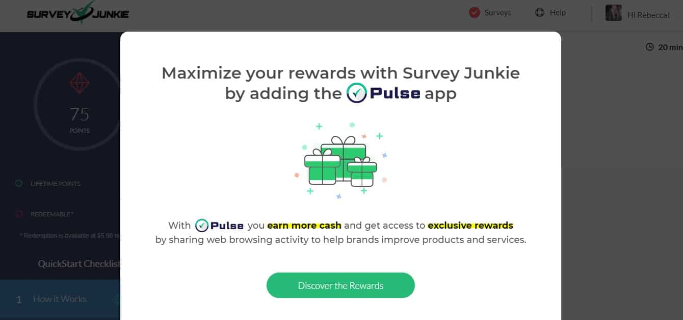Survey Junkie Pulse App