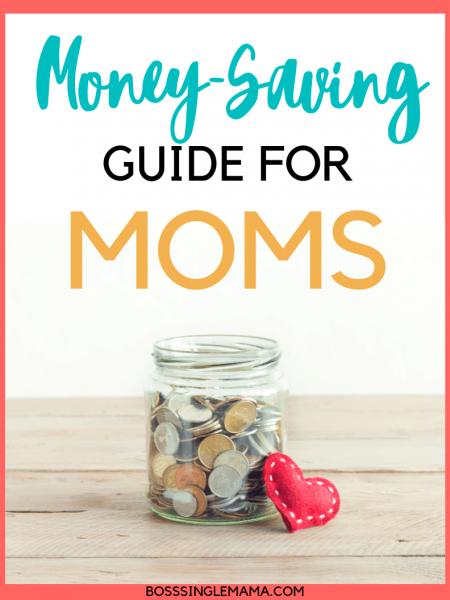 money saving guide for moms